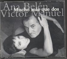 CD - ANA BELEN - VICTOR MANUEL - MUCHO MAS QUE DOS - 2cd - Musik & Instrumente