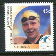 Australia 2000 Siobhan Paton - Paralympian Of The Year MNH (SG 2055) - Ungebraucht