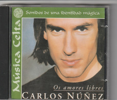 CD - CARLOS NUÑEZ - Os Amores Libres - Música & Instrumentos