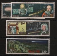Laos - 1986 - N°Yv. 729 à 735 - Comète De Halley - Neuf Luxe ** / MNH / Postfrisch - Espacio