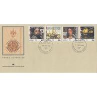AUSTRALIA TERRA AUSTRALIS FDC 1985 , Postmark SUNNYBANK 10th April 1985 - FDC