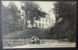 CPA 56 SAINT MALO DE BEIGNON - Le Château, Côté De La Rivière - édit. Lamiré - Réf. S 23 - Frankrijk
