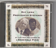 CD - RAY LEMA  PROFESSEUR STEFANOV  ET LES VOIX BULGARES DE L'ENSAMBLE PIRIN - Musik & Instrumente