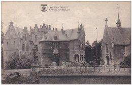 Herenthout Chateau De Herlaer Postzegel Stempel 1921 - Herenthout