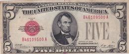 5   DOLLAR 1928 - Biglietti Degli Stati Uniti (1928-1953)