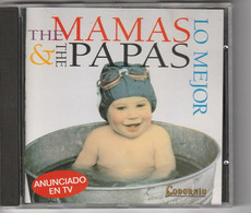 CD - THE MAMAS & THE PAPAS - LO MEJOR - Codorniu - Sonstige