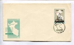ORGANISMO DE DESARROLLO DEL COMPLEJO DE BAYOVAR. ENVELOPE PERU 1977 FDC DIA DE EMISION-LILHU - Pérou
