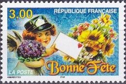 """France Timbre De Souhaits """"Bonne Fête"""" N° 3133 Nnée 1998 Neuf** - France"""