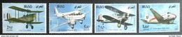 Iraq NEW 2017 MNH - Iraqi Airforce Fighters Bombers Transportation Aviation - Cplete Set 4v.- 2nd Issue, Sky Blue Very - Iraq