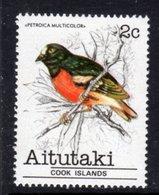 AITUTAKI - 1981 2c ROBIN BIRD STAMP FINE MNH ** SG 320 - Aitutaki