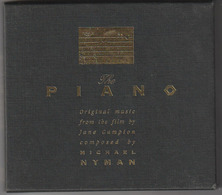 CD - THE PIANO - Original Music From The Film By Jane Campion Compsed By Michael Nyman - Sonstige
