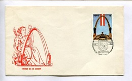 CINCUENTENARIO DE LA REINCORPORACION DE TACNA. ENVELOPE PERU 1979 FDC DIA DE EMISION-LILHU - Pérou