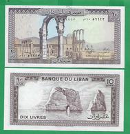 LEBANON - 10 LIVRES - 1986  - UNC - Liban