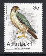 AITUTAKI - 1981 3c FALCON BIRD STAMP FINE MNH ** SG 322 - Aitutaki
