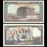 LEBANON - 50 LIVRES - 1986  - UNC - Liban