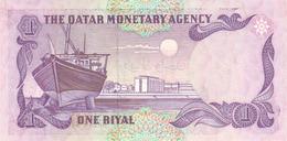QATAR P. 13a 1 R 1985 UNC - Qatar
