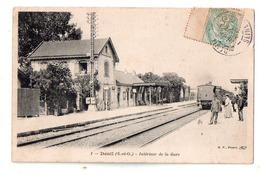 Deuil Train En Gare - Deuil La Barre