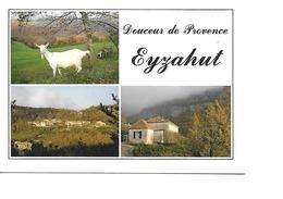 26 EYZAHUT Cpm Multivues - Francia