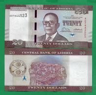 LIBERIA - 20 DOLLARS - 2017 - UNC - Liberia