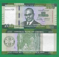 LIBERIA - 100 DOLLARS - 2017 - UNC - Liberia