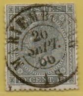 +MW-4450     MARIEMBOURG      Dubbel  Cirkel  OCB  17 - 1865-1866 Profile Left