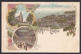 CPA - Monaco, Souvenir De MONTE CARLO - Monte-Carlo