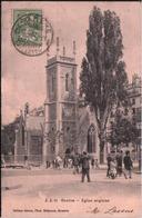 Cpa GENEVE - 1907 - Eglise Anglaise JJ 21 - GE Geneva