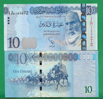 LIBYA - 10 DINAR – 2015 - UNC - Libya