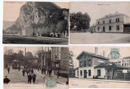 1 Lot De 15 Cartes Trais Gares Tramways 20euroos Frais De Port Compris - 5 - 99 Postcards