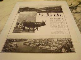 ANCIENNE PUBLICITE  LES VINS DE L ELITE LE PORTO 1935 - Alcools