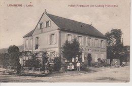 57 - LEMBERG - HOTEL RESTAURANT HEITZMANN - Other Municipalities