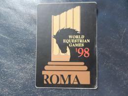 19975) ROMA WORLD EQUESTRIAN GAMES 1998 ADESIVO - Equitazione