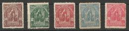 1899 Serie Courante - El Salvador