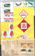 China 2010, Lot  Mit Postfrischen Ausgaben Dabei 7 Blöcke - 1949 - ... People's Republic