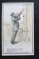 """Chocolat GUERIN BOUTRON : Chromo Série """"Histoires Comiques 1900"""" - Guérin-Boutron"""