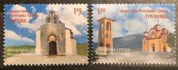 Bosnia And Herzegovina, Republic Of Srpska, 2008, Mi: 444/45 (MNH) - Iglesias Y Catedrales