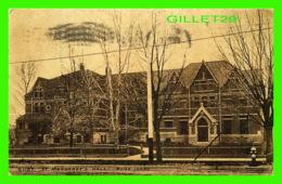 BOISE, ID - ST MARGARET'S HALL - TRAVEL IN 1912 - - Boise