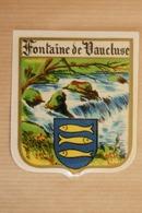 """Autocollant Stickers Ecusson Du Pays Ville Commune Village """"FONTAINE DE VAUCLUSE"""" 83 VAUCLUSE - Stickers"""