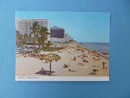 MIAMI BEACH  -  La Plage  -  Floride  -  Etats Unis - Miami Beach