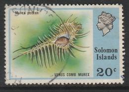 Solomon Islands 1976 Flora And Fauna 20 C Multicoloured SW 312 O Used - Rapa Nui (Ile De Pâques)