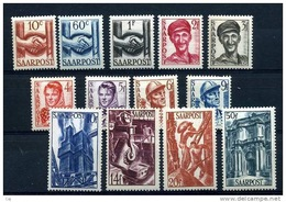 Sarre  :  Yv  231-43    ** - Unused Stamps