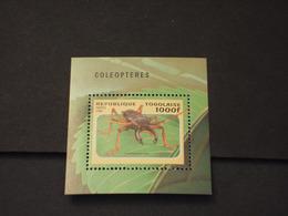 TOGO - BF 1996 COLEOTTERO - NUOVO(++) - Togo (1960-...)