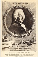 GUILLOTIN Père De La Guillotine - Révolution Française - Histoire