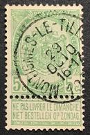 N. 56, 5 Cent Vert, Obl. Montignies-le-Tilleul 29/10/????, NIPA R - 1893-1907 Wappen