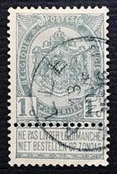 N. 53, 1 Cent Gris, Obl. Depots-relais Alle 13/11/????, NIPA 650 - 1893-1907 Wappen