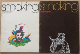 SMOKING -RIVISTA PER FUMATORI N. 1 + 2 DEL MARZO-GIUGNO 1975 (210819) - Libri, Riviste, Fumetti