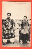 MTS-06 Tonkin Hanoi Mandarin Et Sa Femme En Costumes. ANIME,  Non Circulé No 16 - Vietnam