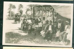 Cpa Photo écrite D'égypte En 1950  - An Coffee Shop On Almiya ?        Lfi71 - Ägypten