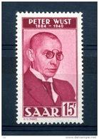 Sarre  :  Yv  268  **      ,    N2 - 1947-56 Occupation Alliée