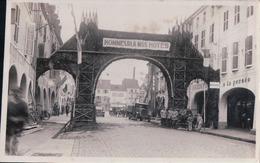 Photo Carte 13,8 X 9 Cm REMIREMONT HONNEUR A NOS HOTES - Remiremont